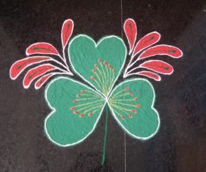 Rangoli: st.patrick's day!