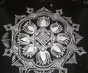 Rangoli: Aadi krithigai!
