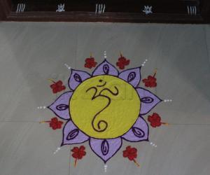 Rangoli: Ganesh Chathurthi 2015