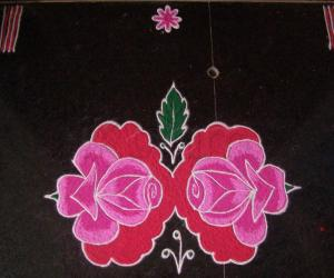Hi Friendsthis Is A Flower Kolam For Margazhi Hope You All Like This 8