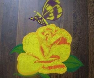 Rangoli: Mardi gras