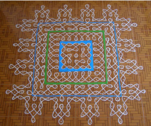 Margazhi dew drops kolam contest-2012