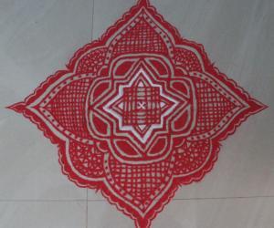 Rangoli: navarathri kolam1