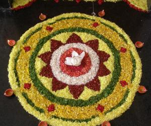 Rangoli: Happy Onam!!!