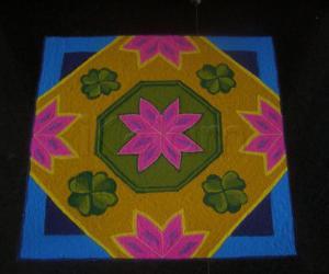 Rangoli: St Patrick's Day!