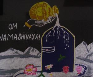 Rangoli: Happy Maha Shivratri!