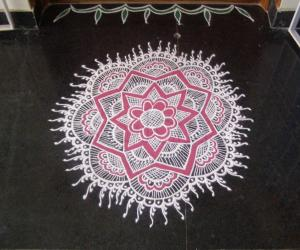 Rangoli: HAPPY UGADI!