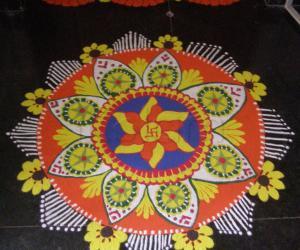 Rangoli: Ganesh Chathurthi!