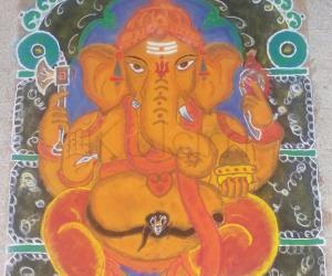 Diwali Rangoli 2014