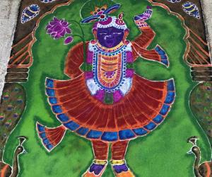 """Shreenathji"" Avatar of Lord Vishnu."