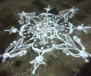 Rangoli: Happy Vishu and Tamil New Year