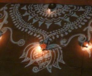 Rangoli: Diwali kolams