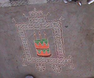 Happy Birthday Kolam,