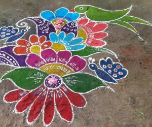 Rangoli: Margazhi 2017 special rangoli