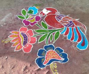 Rangoli: New year 2017 spl