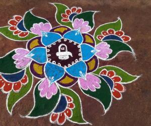 Rangoli: Colorful Markazhi