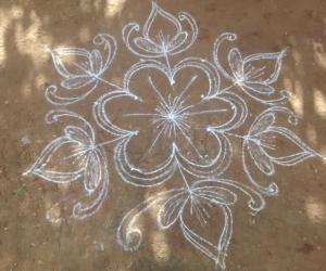 Rangoli: Daily rangoli