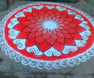 Margazhi day 4 rangoli