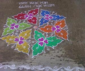 New year kolam