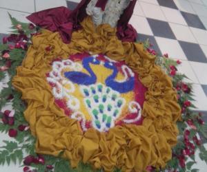 Rangoli: Wedding rangoli