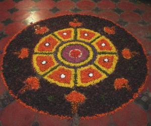 Rangoli: Pookolam - Diwali 2013