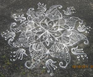 Rangoli: In front of my home...