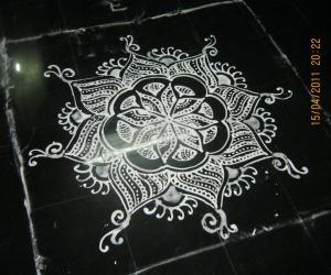 Rangoli: A very spl one...