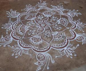Rangoli: My creation