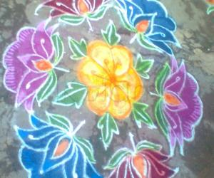Pongal Special Kolam