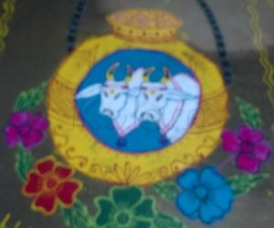 pongal pot contest rangoli 2015