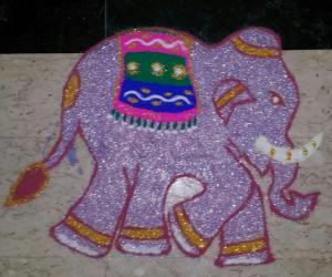Rangoli: Navratri  - Day 5