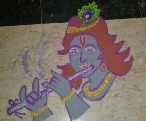 Rangoli: Navratri - Day 7