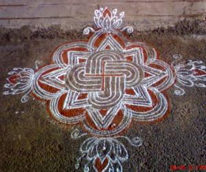 Rangoli on Friday