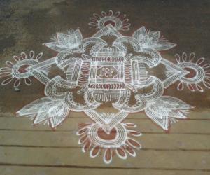 Rangoli: Margazhi last friday