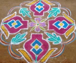 Rangoli: Srisa kolam