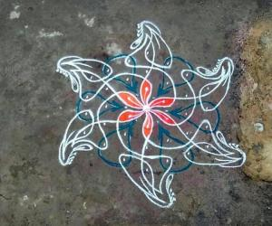Rangoli: Margazhi 14th