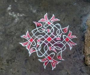 Rangoli: Margazhi15th
