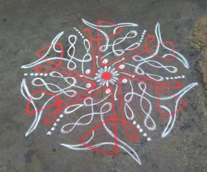 Rangoli: Margazhi 26TH