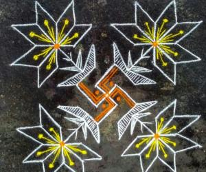 Rangoli: 7th day