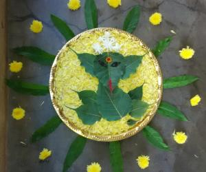 Rangoli: Elai Pillaiyar