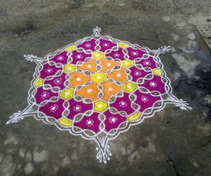 Rangoli: Happy bhogi