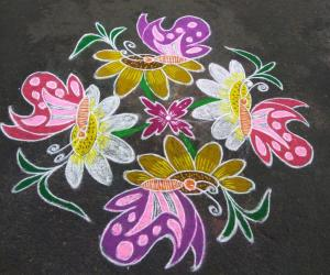 Rangoli: HAPPY NEW YEAR FRIENDS...