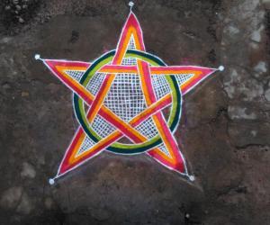 Rangoli:  9th Happy Christmas