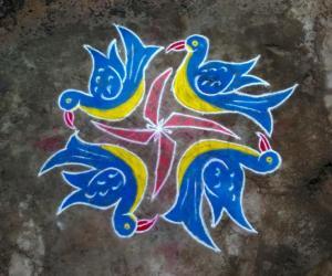 Rangoli: 23rd day