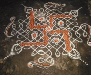Rangoli: my chikku