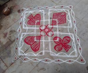 Rangoli: Puzzle rangoli Answer