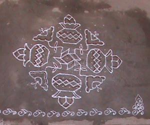Rangoli: Kalash