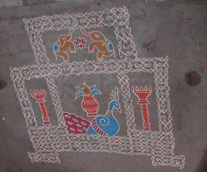 Varamahalakshmi Rangoli