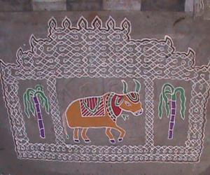 Sankranthi Kolam