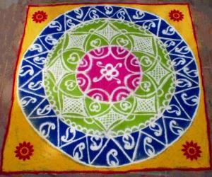 Rakshabhandhan Special Rangoli